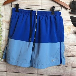 Nike Blue Athletic Shorts size M
